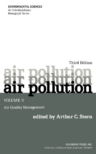 9780126666052: Air Pollution, Volume 5, Third Edition: Air Quality Management (Environmental Sciences)
