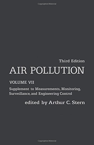 9780126666076: Air Pollution: Supplement to Measurements, Monitoring, Surveillance, and Engineering Control: 7 (Environmental Sciences)