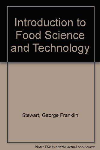 9780126702507: Introduction to Food Science and Technology
