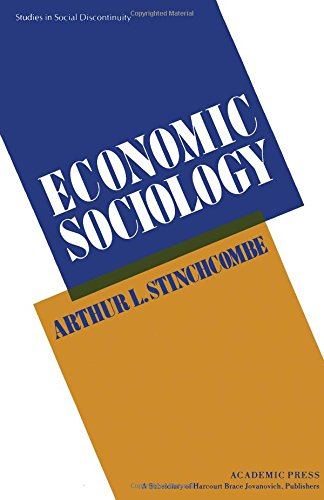 9780126713800: Economic Sociology (Studies in Social Discontinuity)