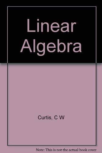 9780126721508: Linear Algebra