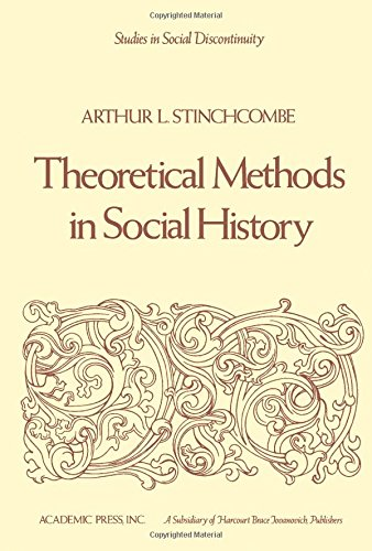 9780126722505: Theoretical Methods in Social History (Studies in social discontinuity)