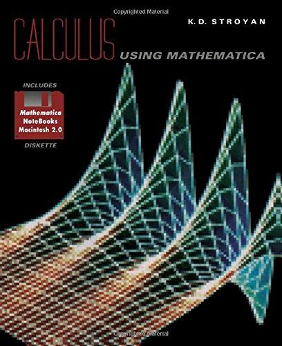 9780126729719: Calculus using Mathematica