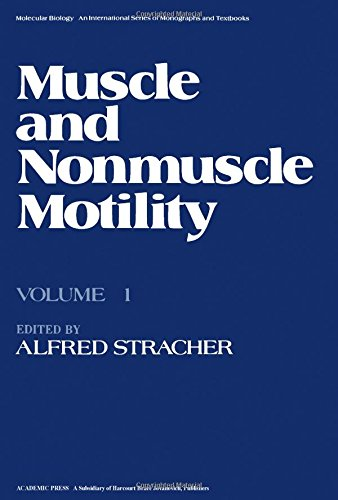 Muscle and Nonmuscle Motility, Volume 1 Molecular Biology - An International Series of Monographs...