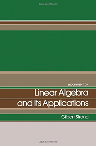 9780126736601: Linear Algebra and Its Applications