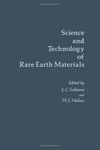 9780126756401: Science and Technology of Rare Earth Materials