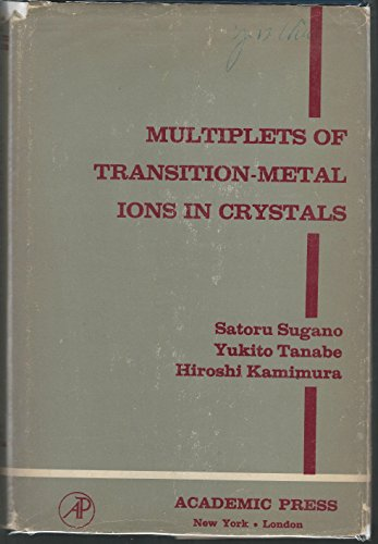 9780126760507: Multiplets of Transition-metal Ions in Crystals (Pure and applied physics)