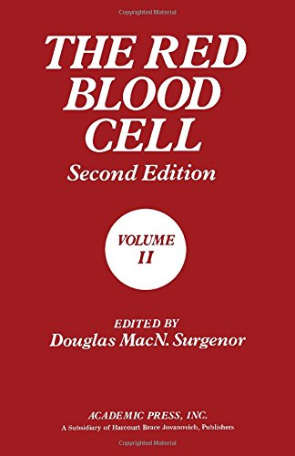 9780126772029: The Red Blood Cell, Volume 2