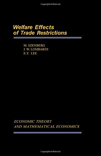 Welfare Effects of Trade Restrictions: A Case Study of the U.S. Footwear Industry (Economic Theor...