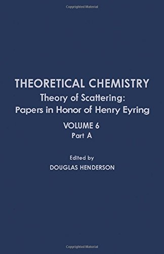 9780126819069: Theory of Scattering: Papers in Honor of Henry Eyring (Theoretical Chemistry, Vol. 6, Part A)