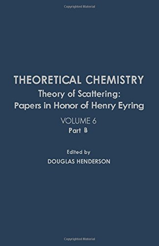 9780126819076: Theory of Scattering: Papers in Honor of Henry Eyring (Theoretical Chemistry, Vol. 6, Part B)