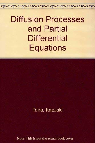 9780126822205: Diffusion Processes and Partial Differential Equations