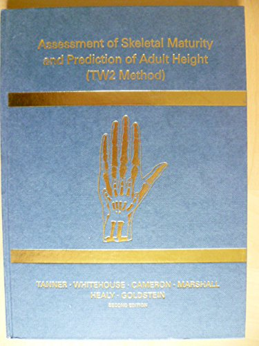 9780126833607: Assessment of Skeletal Maturity and Prediction of Adult Height: TW2 Method