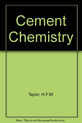 9780126839005: Cement Chemistry