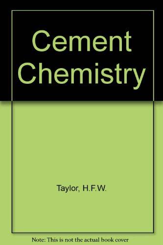9780126839005: Cement Chemistry