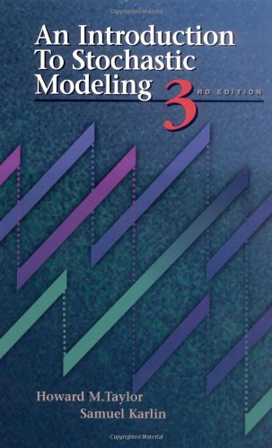 An Introduction to Stochastic Modeling, Third Edition: Howard M. Taylor,