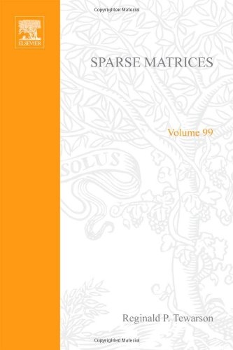 9780126856507: Sparse Matrices. Mathematics in Science and Engineering Volume 99