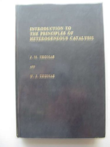9780126886504: Introduction to the Principles of Heterogeneous Catalysis