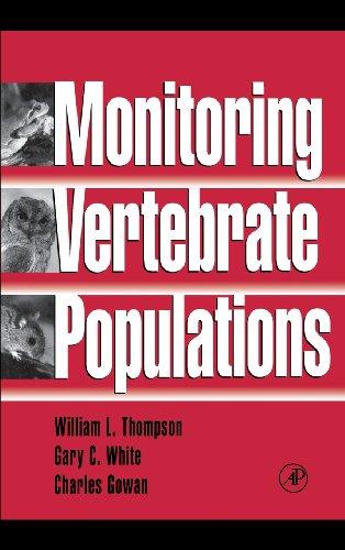 9780126889604: Monitoring Vertebrate Populations