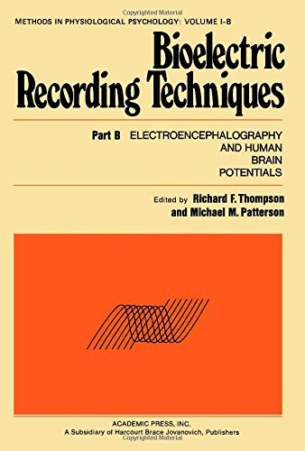 9780126894028: Bioelectric Recording Techniques: Electroencephalography and Human Brain Potential Pt. B (Methods in physiological psychology, v. 1, pt. B)