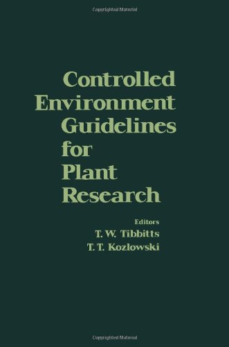 9780126909500: Controlled Environmental Guide Lines for Plant Research