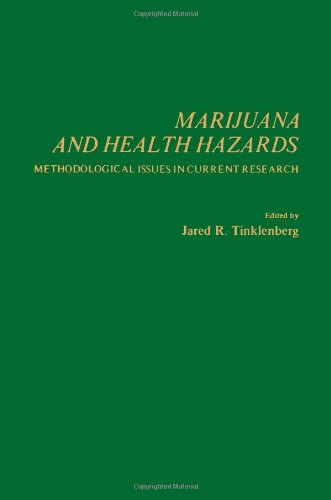 9780126913507: Marijuana and Health Hazards