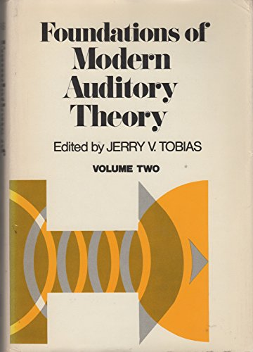 9780126919028: Foundations of Modern Auditory Theory: v. 2
