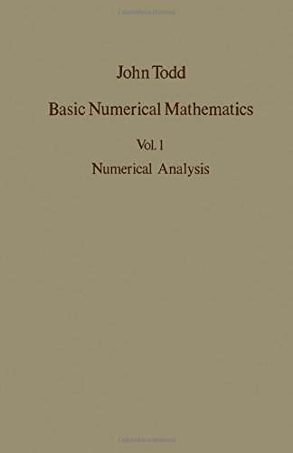 9780126924015: Basic Numerical Mathematics, Volume 1: Numerical Analysis. International Series in Numerical Mathematics, Volume 14
