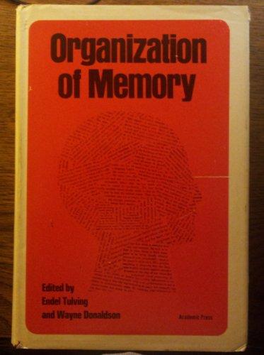 9780127036502: Organization of Memory