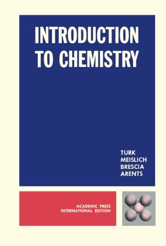 9780127038308: Introduction to Chemistry