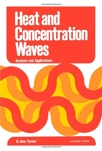 9780127040509: Heat and Concentration Waves: Analysis and Application