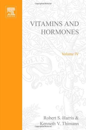 9780127098043: VITAMINS AND HORMONES V4, Volume 4