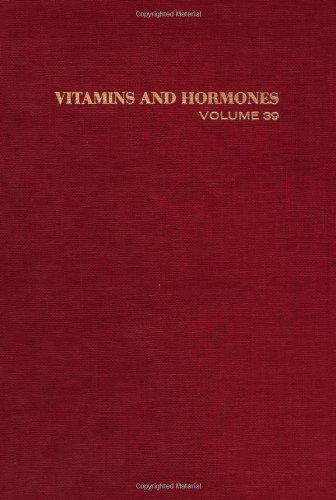 9780127098395: Vitamins and Hormones, Volume 39: Advances in Research and ApplicationsVolume 39 (Vitamins & Hormones)