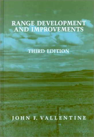 9780127100036: Range Development and Improvements, Third Edition