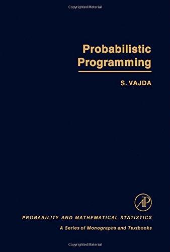 9780127101507: Probabilistic Programming (Probability & Mathematical Statistics Monograph)