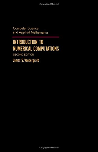 9780127113562: Introduction to Numerical Computations (Computer Science & Applied Mathematics Monograph)