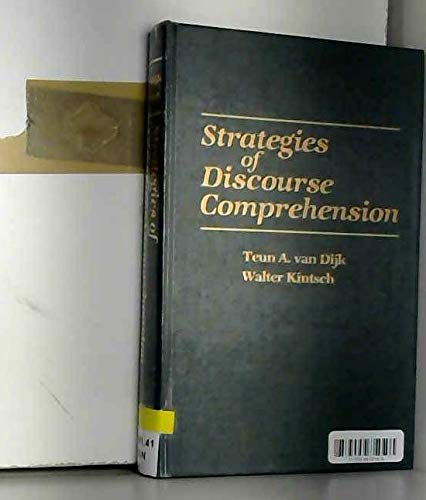 9780127120508: Strategies of Discourse Comprehension