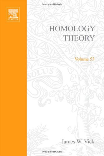 9780127212500: Homology Theory: Introduction to Algebraic Topology (Pure and applied mathematics; a series of monographs and textbooks)
