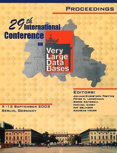 9780127224428: Proceedings 2003 VLDB Conference,: 29th International Conference on Very Large Databases (VLDB) (Proceedings of the International Conference on Very Large Databases (Vldb))