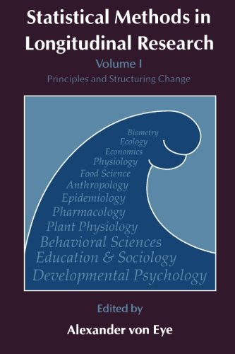 9780127249629: Statistical Methods in Longitudinal Research, Volume 1: Principles and Structuring Change (Statistical Modeling and Decision Science)