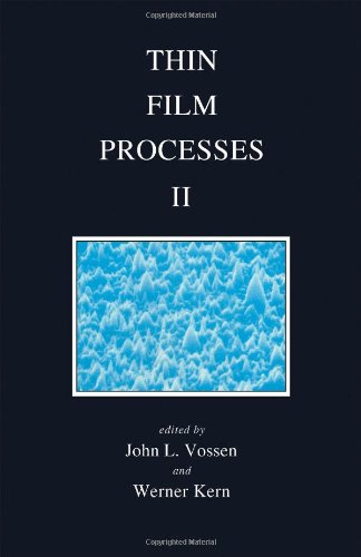 9780127282510: Thin Film Processes, Volume 2 (Pt. 2)