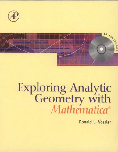 9780127282558: Exploring Analytical Geometry with Mathematica