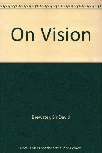 9780127295503: Brewster and Wheatstone on Vision