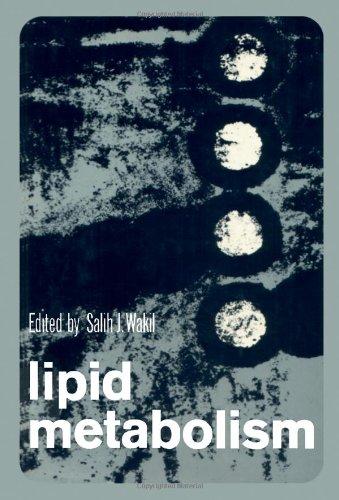 Lipid Metabolims,: Wakil, Salih J. (Ed.):