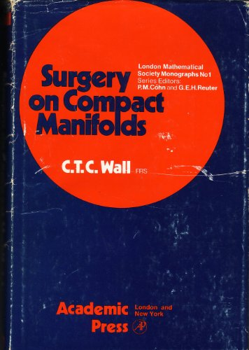 Surgery on Compact Manifolds.: Wall, C. T. C.