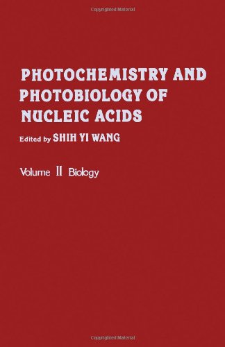 9780127346021: Photochemistry and Photobiology of Nucleic Acids, Vol. 2: Biology