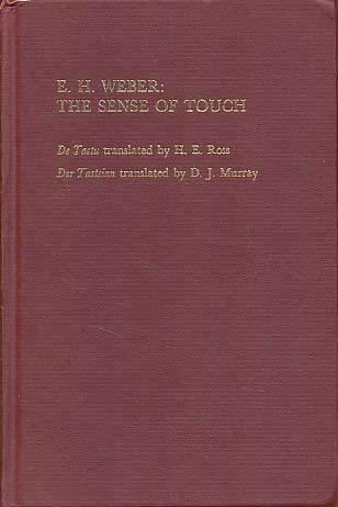 9780127405506: E. H. Weber: The Sense of Touch