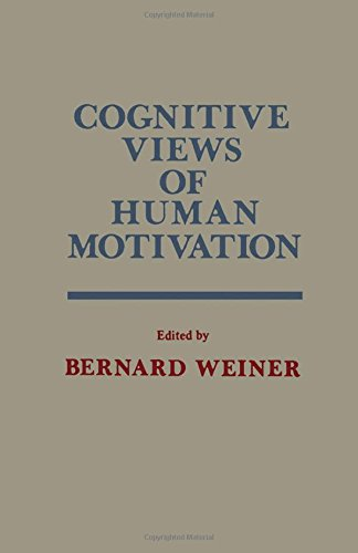 9780127419503: Cognitive Views of Human Motivation