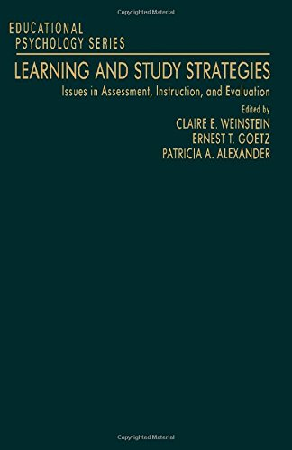 9780127424606: Learning and Study Strategies: Issues in Assessment, Instruction, and Evaluation (Educational Psychology)