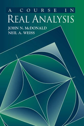 9780127428307: A Course in Real Analysis
